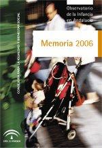Memoria 2006 Observatorio de la Infancia en Andalucía
