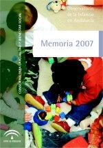 Memoria 2007 Observatorio de la Infancia en Andalucía