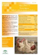 Cifras y Datos nº 3: Primera Infancia: Población y atención educativa en Andalucía