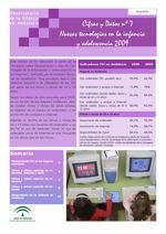 Cifras y Datos nº 7: Nuevas tecnologías en la infancia y adolescencia 2009