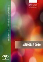 Memoria 2010 Observatorio de la Infancia en Andalucía