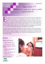 Cifras y datos nº 9: Hábitos de uso e imagen de la infancia y adolescencia en televisión