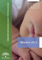 Memoria 2013 Observatorio de la Infancia en Andalucía