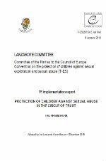 Convenio de Lanzarote: Primer Informe de Aplicación de la protección de los niños contra el abuso sexual en su círculo de confianza