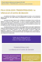 Clic para descargar PIA-A 2016-2020: TRANSVERSALIDAD. La infancia en el centro de decisión