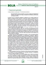 Decreto 210/2018, de 20 de noviembre, por el que se regula el procedimiento de actuación ante situaciones de riesgo y desamparo de la infancia y adolescencia en Andalucía (SIMIA) (BOJA n.227, de 23.11.18)