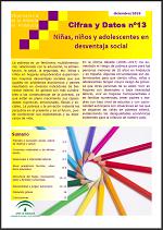 Cifras y Datos nº 13: Niñas, niños y adolescentes en desventaja social