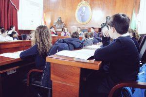 Pleno Infantil del Ayuntamiento de Montilla